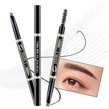 HengFang® 5 Colors 24 Hours Long Lasting Double-head Eyebrow Pencil Soft Smooth - $5.91