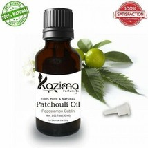 KHAZIMA PATCHOULI  ESSENTIAL OIL 100% PURE NATURAL & UNDILUTED OIL 15ML - $23.86