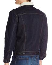 Levi's Men's Premium Button Up Denim Sherpa Jeans Trucker Jacket 705980027 image 2