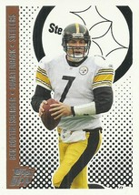 2006 Topps Draft Picks and Prospects #11 Ben Roethlisberger  - $0.50