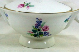 Theodore Haviland Ellwood Footed Covered Sugar Bowl - $41.57
