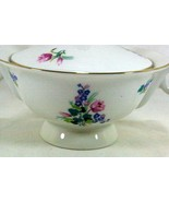 Theodore Haviland Ellwood Footed Covered Sugar Bowl - $37.79