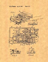 8-track Cassette Adaptor Patent Print - $7.95+