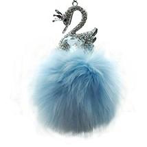 PANDA SUPERSTORE Elegant Ornaments, Art Car Charm-Car Pendant (Swan Best Wishes)
