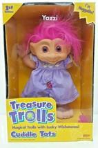 Treasure Troll 1st Edition Cuddle Tots Doll Yazzi Pink Vtg 90s Collectib... - $49.49