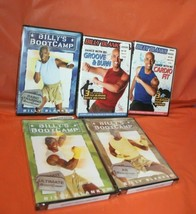 5 Billy Blanks DVD Workout Training Fitness Set Bootcamp Dance Cardio Fit - $49.49