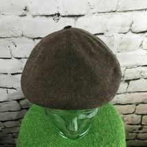 Colonial Hommes Taille Unique Chapeau Marron Importé Pure Laine Rétro Pl... - $22.27