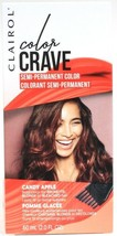 1 Clairol Color Crave Candy Apple Bold Semi Perm Dye Brown Blonde Bleach... - $11.99