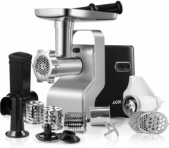 Electric Meat Grinder 2500W Max Powerful AICOK 5-IN-1 Meat Mincer  MG2950R - $79.95