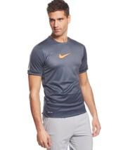 Nike Gpx Flash Printed Performance T-Shirt, Grey, Sz. Small - $34.65