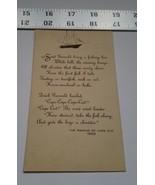 Home Treasure Trading Card Poem Naming Cape Cod 1602 Gosnold Fishing Shi... - $9.49