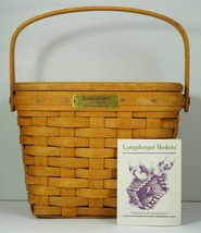 Longaberger Basket Jerry Longaberger Dresden Ohio Home of Longaberger Li... - $59.99