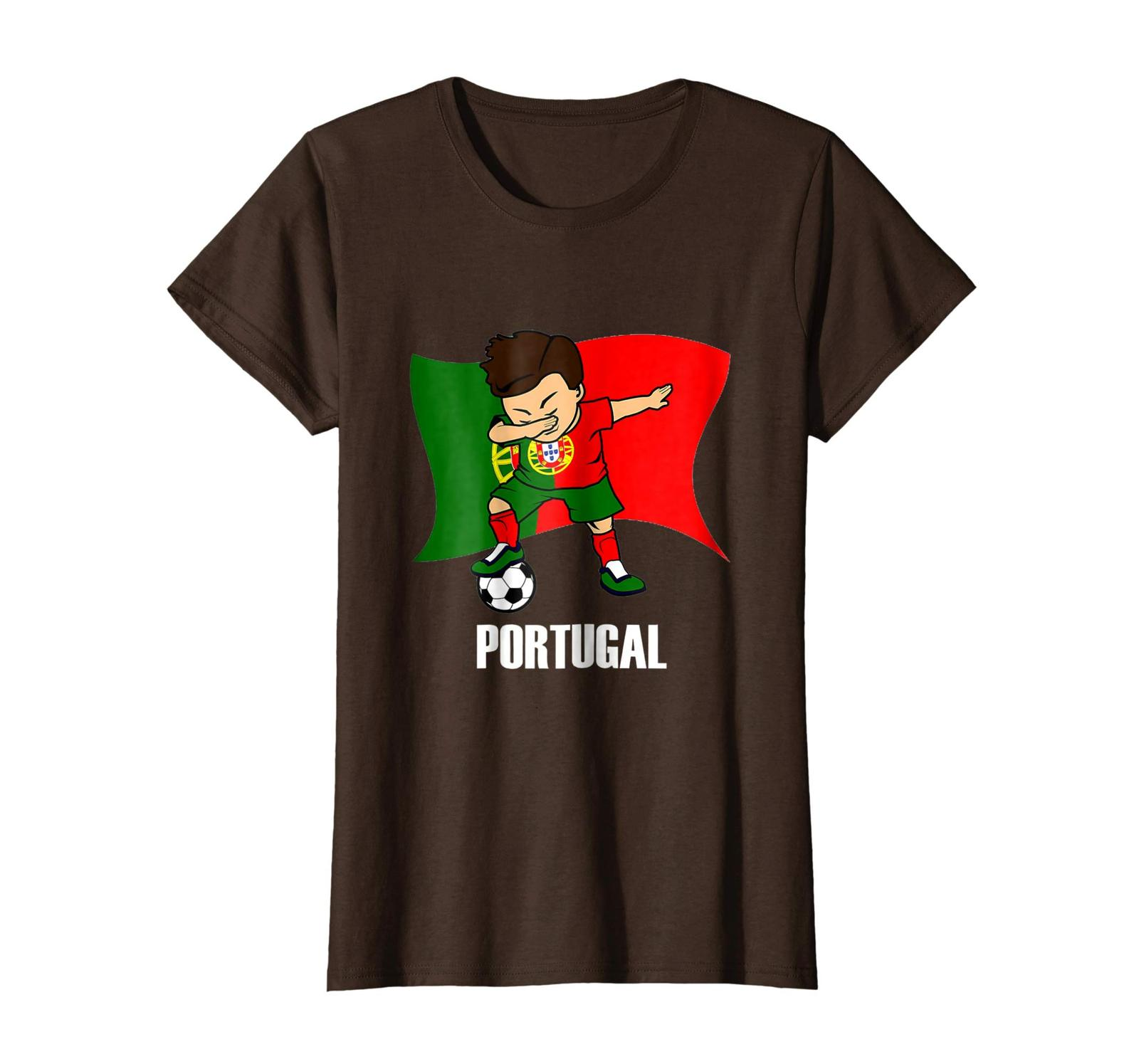 Sport Shirts - Dabbing Tshirt Soccer Boy Portugal Jersey Portugal Football Wowen