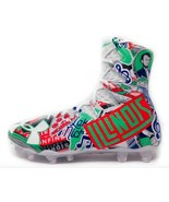 New mens Limited Edition Under Armour size 12 Illinois Ilini football cl... - $99.50