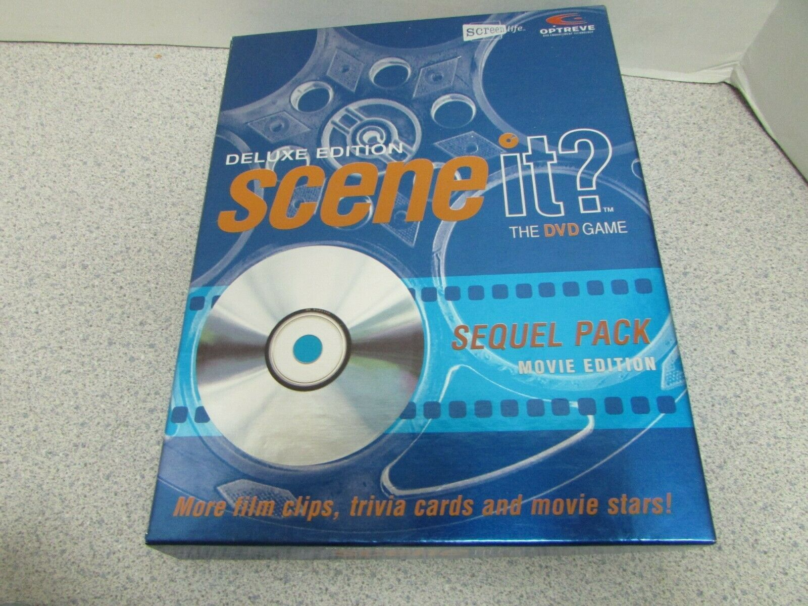 SCENE IT GAME SEQUEL PACK MOVIE TRIVIA  COMPLETE DELUXE EDITION