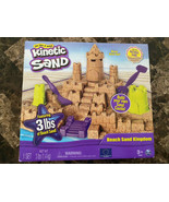 Kinetic Sand Beach Sand Kingdom NEW IN PACKAGE 3 lbs of sand - $34.64