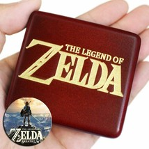 Red Wooden Legend of Zelda Music Box - $49.00