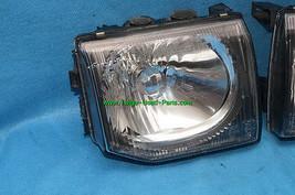 92-96 Mitsubishi Montero JDM Glass Headlights Head Light Lights Set 97 UPGRADE image 2