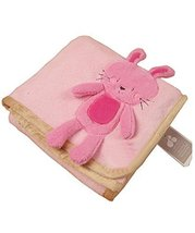 Cute Baby Thin Coral Fleece Blanket/Infant Spring and Summer Quilt Rabbit