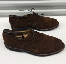 Cole Haan Country USA Brouges Wingtip Suede Leather Shoes Men's 12 D - $55.78