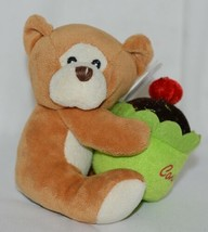 Beverly Hills Brand Playfully Elegant Brown Color Congratulations Cupcake Bear image 1
