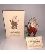 Hallmark Keepsake Ornament Hand Painted Special Edition Favorite Santa 1987 - $10.00