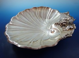 Shell Bowl with Grapes & Leaves by Reed Barton Silverplate Bowl  - $89.00