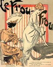Le Frou Frou: Two Women Gossiping - 1905 - $12.95+