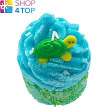 Turtley Awesome Bath Mallow Bomb Cosmetics Coconut Lime Handmade Natural New - $4.05
