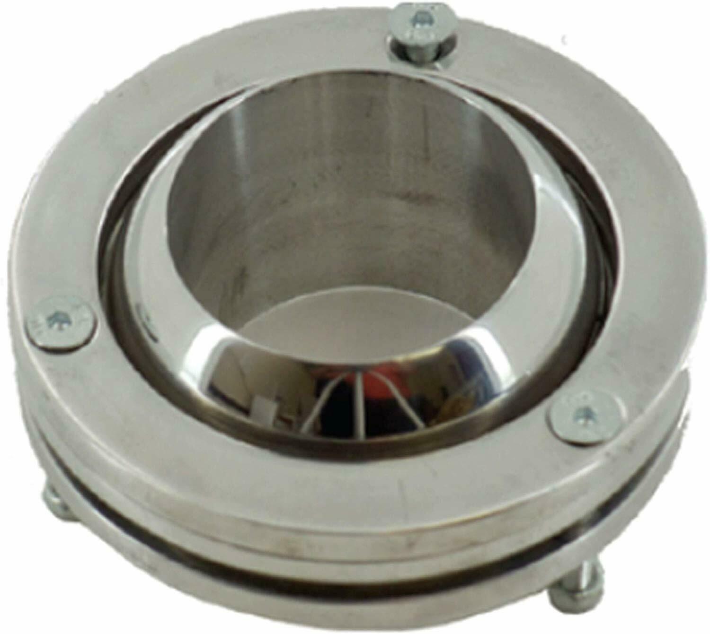 "2"" Swivel Ball Floor Mount Steering Column Polished Aluminum GM Chevy Street Rod"