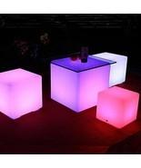 Floating Pool LED Lights Orbit Ball Cube Remote Outdoor Waterproof Garden Decor - $59.99