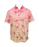 Naturdays Natural Light Party Time Tropical Bros Hawaiian Shirt Pink - $52.98+