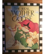 The Real Mother Goose Checkerboard Press 1988 Illus Blanche Fisher Wrigh... - $9.98
