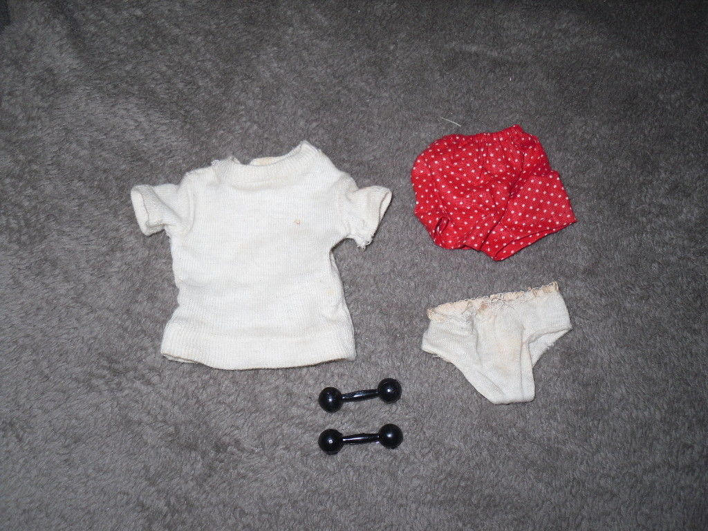 Vintage Barbie Doll Outfit - Ken In Training #780 - 1961 BW Label