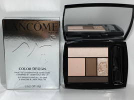 Lancôme Color Designe Eye Shadow Palette *FRENCH NUDE New in box Full Size - $36.61