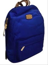 Michael Kors Jet Set Item Large Nylon Backpack Electric Blue NWT - $169.00