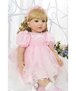 PURSUEBABY Toddlers Reborn Princess Doll Laurie with Curly Blonde Hair ,... - $109.90