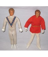 "NEAT Pair Vintage 1972 7"" Ideal EVEL KNIEVEL Dolls - $41.46"