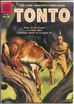 Tonto #33 1959-Dell-Final issue-end of era-high grade-VF - $56.75
