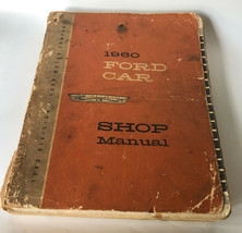1960 Ford Car Shop Manual Guide Book Instructions Fairlane Galaxie Mechanic - $12.25