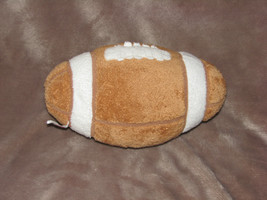 "TY PLUFFIES STUFFED PLUSH BROWN TAN FOOTBALL TOY 2005 9"" - $27.71"