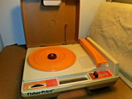 Fisher Price Record Player Model 825 Vintage 1978 For PARTS/REPAIR - $19.54
