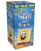 Kellogg's Spongebob Rice Krispies Treats, 16 Ct Value Pack, 11.2 Oz - $12.86