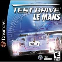 Test Drive Le Mans Sega Dreamcast - $9.59