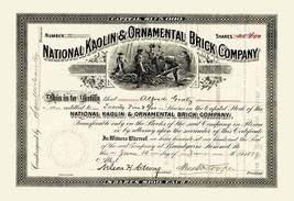 National Kaolin & Ornamental Brick Company - Art Print - $19.99+