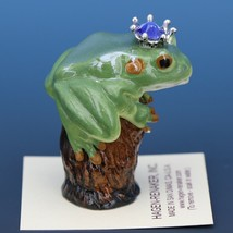 Birthstone Tree Frog Prince September Sapphire Miniatures by Hagen-Renaker image 2