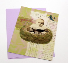 General Greeting Card-Qty 1-Bon Jour    Inside: Blank - $5.99