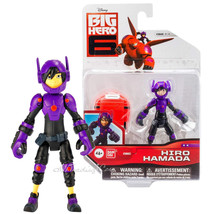 "NEW Disney Big Hero 6 Movie 4"" Tall Action Figure HIRO HAMADA with Mini Baymax - $24.99"
