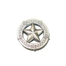 Texas Star Concho Old Silver Barbed Wire - 2 Sizes - $2.99+