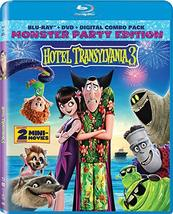 Hotel Transylvania 3 [Blu-ray + DVD + Digital] (2018)